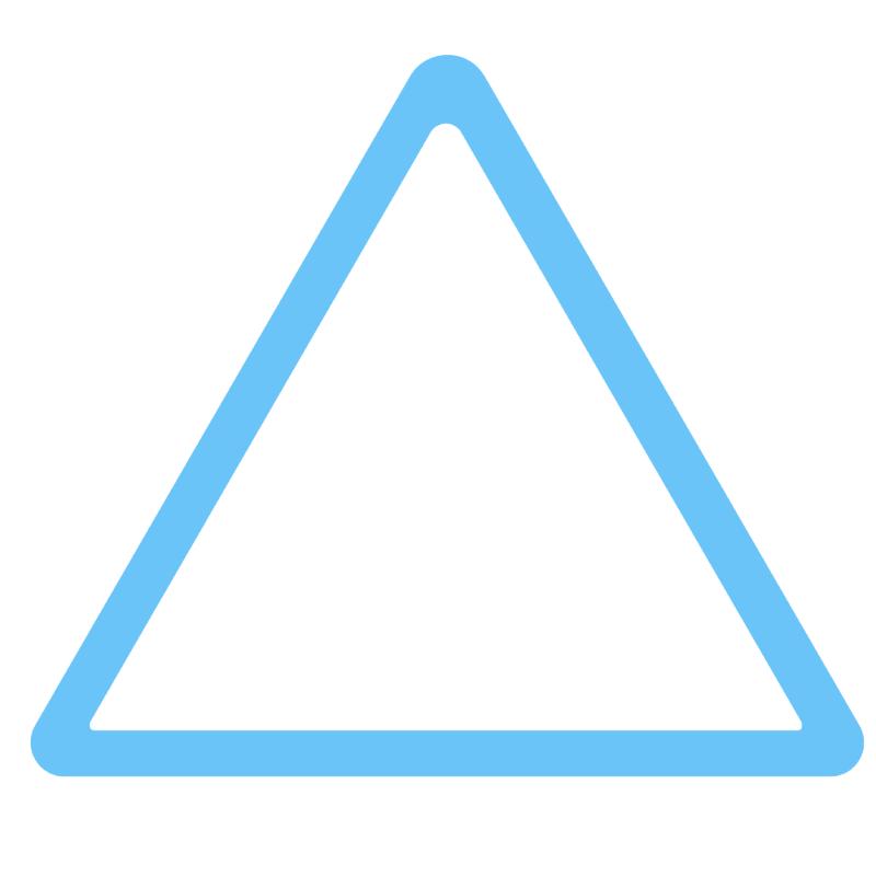 評価アイコン 三角